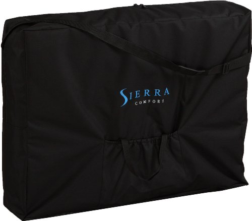 Sierra Comfort Aluminum Portable Massage Table with Adjus...
