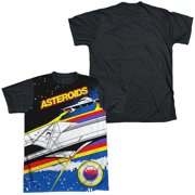 Atari - Asteroids Arcade - Short Sleeve Black Back Shirt - XX-Large