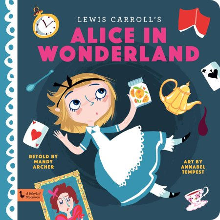 Alice in Wonderland (Board Book) - Characters In Alice In Wonderland