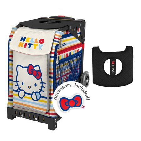 Zuca Sport Bag - Hello Kitty (Good Sport) with Keychain and Gift Black  b3fe32a5af