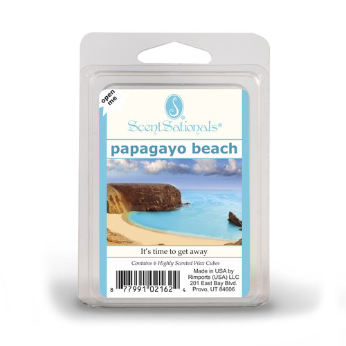 ScentSationals Papagayo Beach Fragrance Wax Cubes