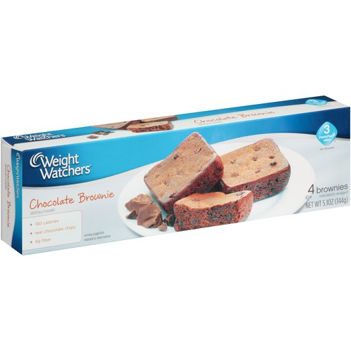 Weight Watchers Chocolate Brownies, 4 count, 5.1 oz