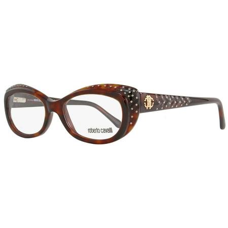 Roberto Cavalli Oval Eyeglasses RC780 Remire 052 Size  53mm Havana 780 -  Walmart.com 17ca9c7933