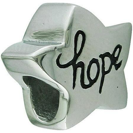 Stainless steel hallmark hope star bead for Star hallmark on jewelry