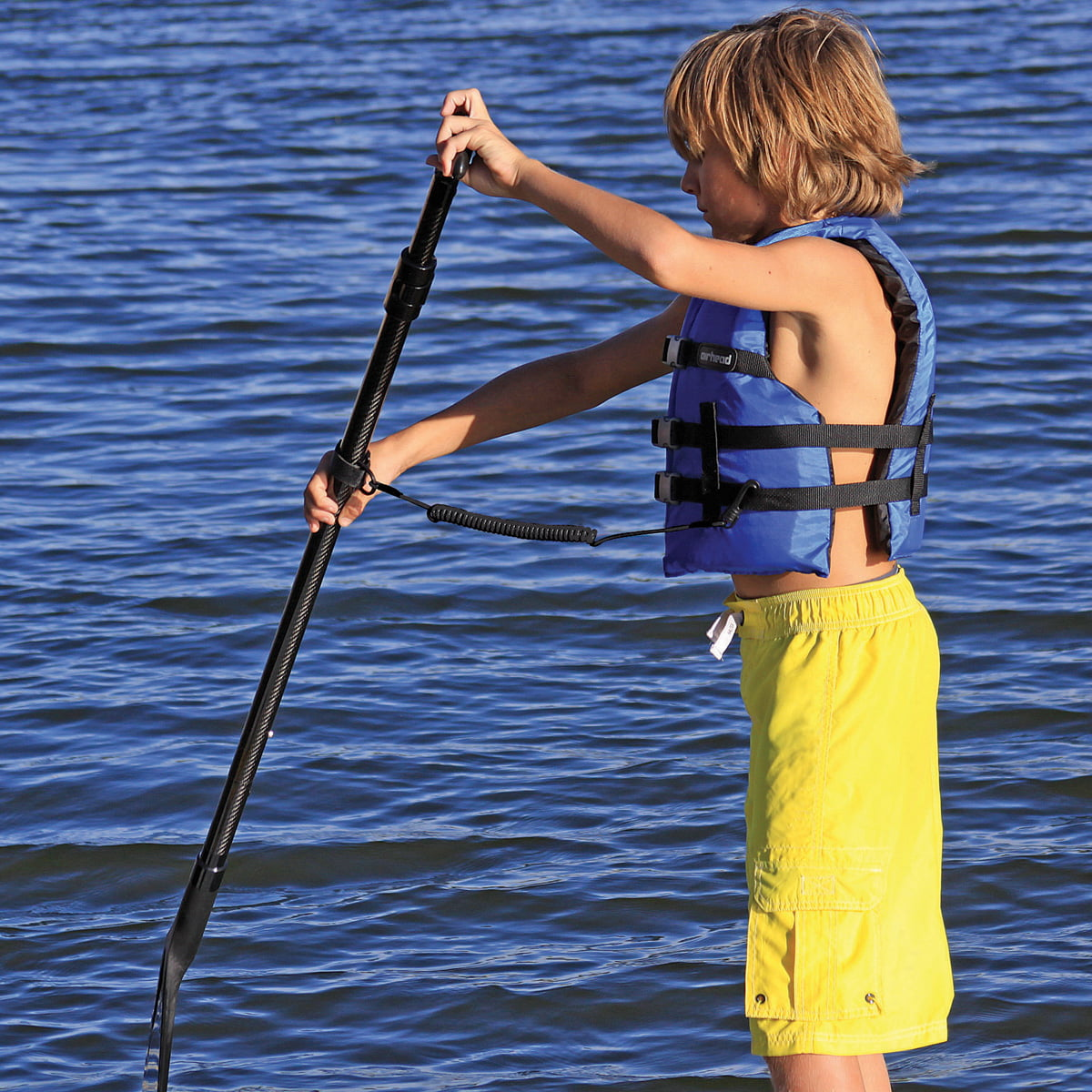 SUP Paddle Rod Leash by AIRHEAD SPORTS GROUP