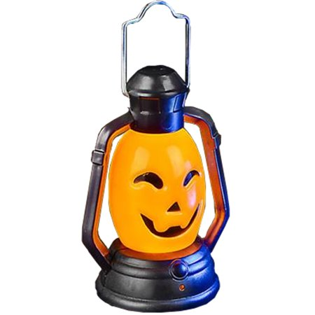 Light Up Pumpkins (Light Up Color Changing Mini Pumpkin Head Lantern Light)