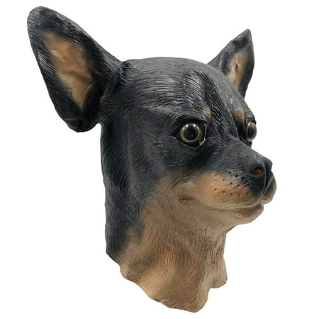 Chihuahua Dog Costume Face Mask - Off the Wall Toys Kennel Club - Toy Dog Costumes