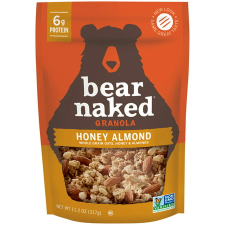 (2 Pack) Bear Naked Soft Baked Granola, Honey Almond, 11.2