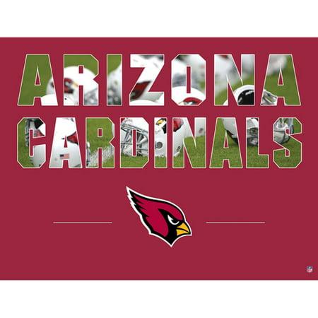 Image of Artissimo Designs NFL Cardinals Stadium Canvas, 22x28