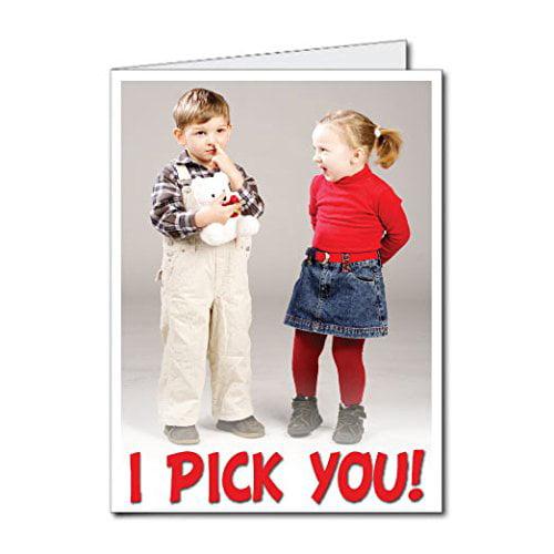 2 X3 Giant Valentine S Day Card I Pick You W Envelope Walmart Com