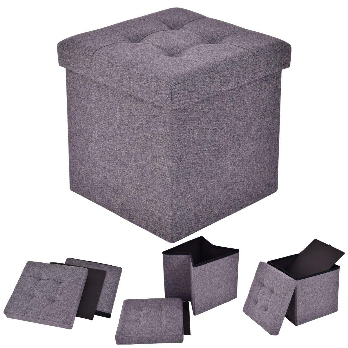 Storage Ottoman Cubes