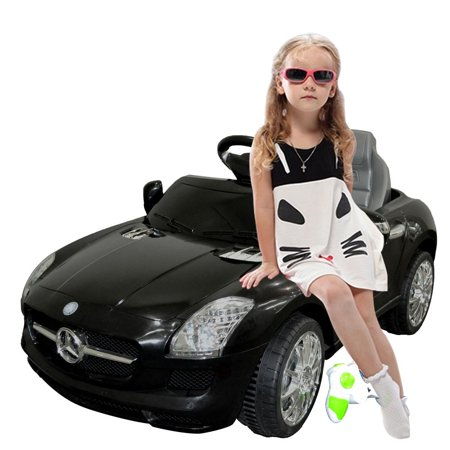 Mercedes Benz Sls R/C Mp3 Kids Ride On Car Electric Battery