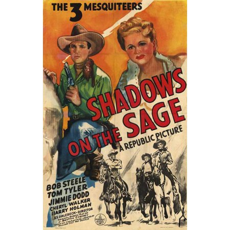 Shadows on the Sage POSTER Movie (27x40)
