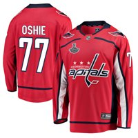 eaab030f6 Product Image TJ Oshie Washington Capitals 2018 Stanley Cup Champions Home  Breakaway Player Jersey - Red