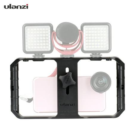 Ulanzi U-Rig Pro 3 Shoe Handheld Smartphone Video Rig Film Making Vlogging Recording Case Bracket Stabilizer for iPhone Samsung all