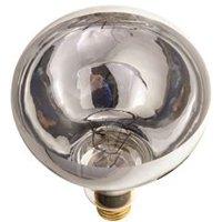 Satco Incandescent Heat Lamp R40, 250 Watt, 120 Volt, Medium Base, Clear, 6,000 Average Rated Hours, 12 Per Case