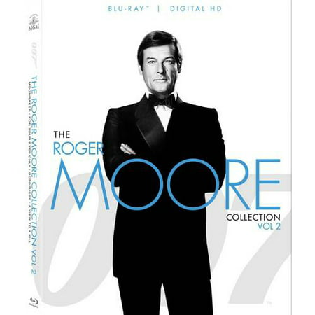 007  The Roger Moore Collection   Volume 2  Blu Ray   Digital Hd