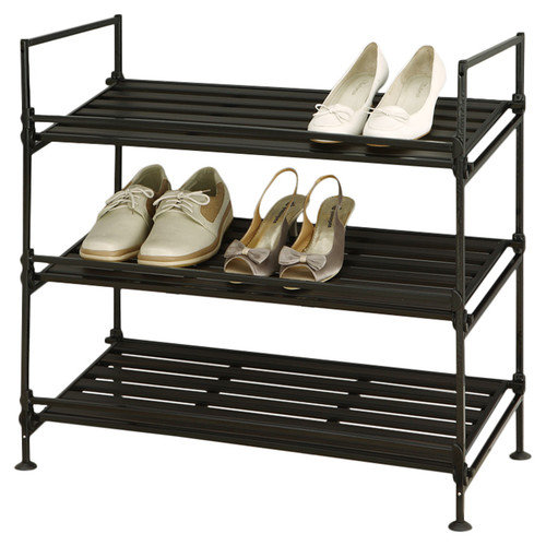 Organize It All 3-Tier Shoe Rack