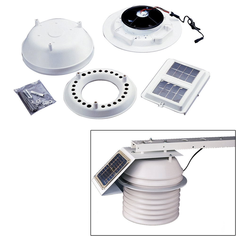 Davis-07747-Solar-Powered-Daytime-Fan-Aspiration-Kit by Davis Instruments