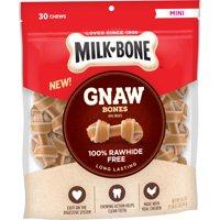 Milk-Bone Gnaw Bones Chews, Mini, 19.1 Oz.