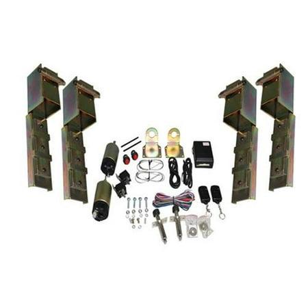 Airbagit DOOR-SUI-09 Suicide Door 4 Hinges & Shave Door Kit - 4 Door Body Kit