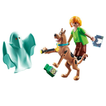 PLAYMOBIL Scooby Doo Scooby & Shaggy with Ghost