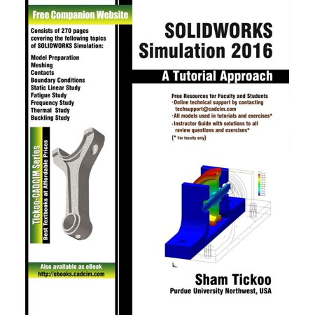 SOLIDWORKS Simulation 2016: A Tutorial Approach - eBook - Walmart com