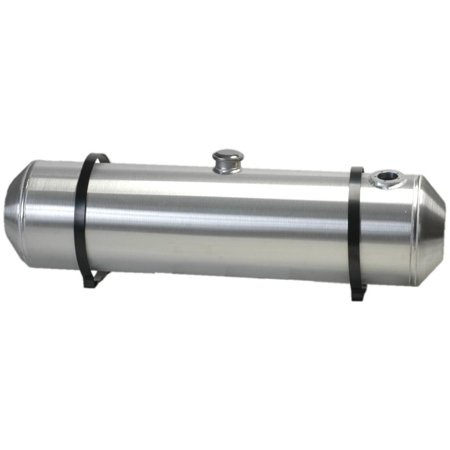 8 Inches X 26 Spun Aluminum Gas Tank 5.5 Gallons With Sending Unit Flange For Dune Buggy, Sandrail, Hot Rod, Rat Rod, Trike