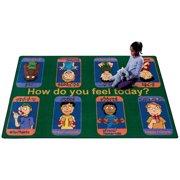 Joy Carpets Signs of Emotions Kids Area Rug