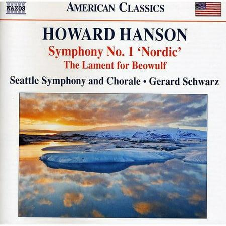H  Hanson   Howard Hanson  Symphony No  1 Nordic  Cd
