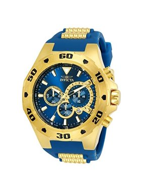Invicta Men's Pro Diver Quartz Multifunction Blue Dial Watch 24681