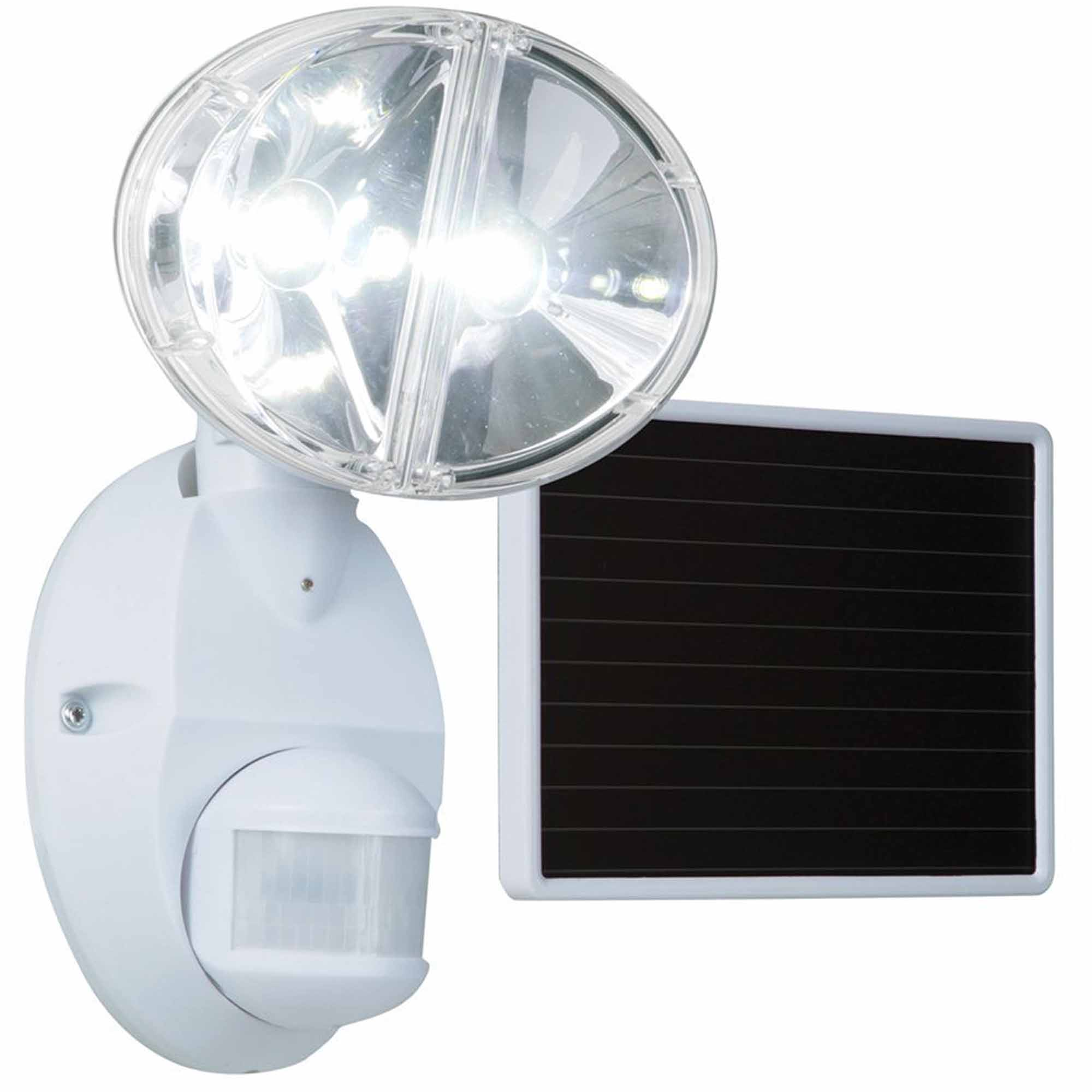 Cooper Lighting 180W Motion-Activated LED Solar Floodlight, White
