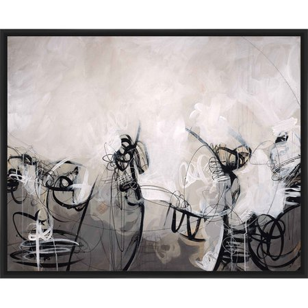 PTM Images 'Etch-a-Sketch' Framed Painting Print