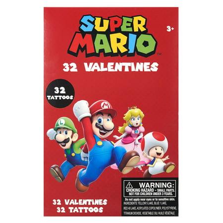 Tattoo Valentines Cards (Way To Celebrate 32 Mario Val Tattoo)