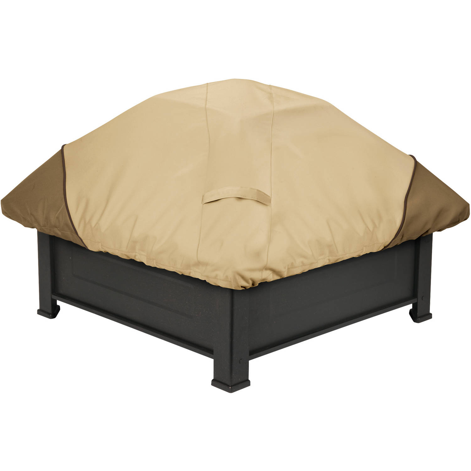 "Classic Accessories Veranda Square Fire Pit Patio Storage Cover, fits up to 40""W"