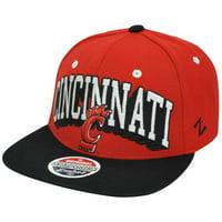 info for d8f83 74675 Product Image NCAA Zephyr Block Buster Cincinnati Bearcats Flat Bill  Snapback Hat Cap Ohio