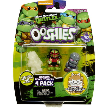 Ooshies TMNT 4-Packs #2