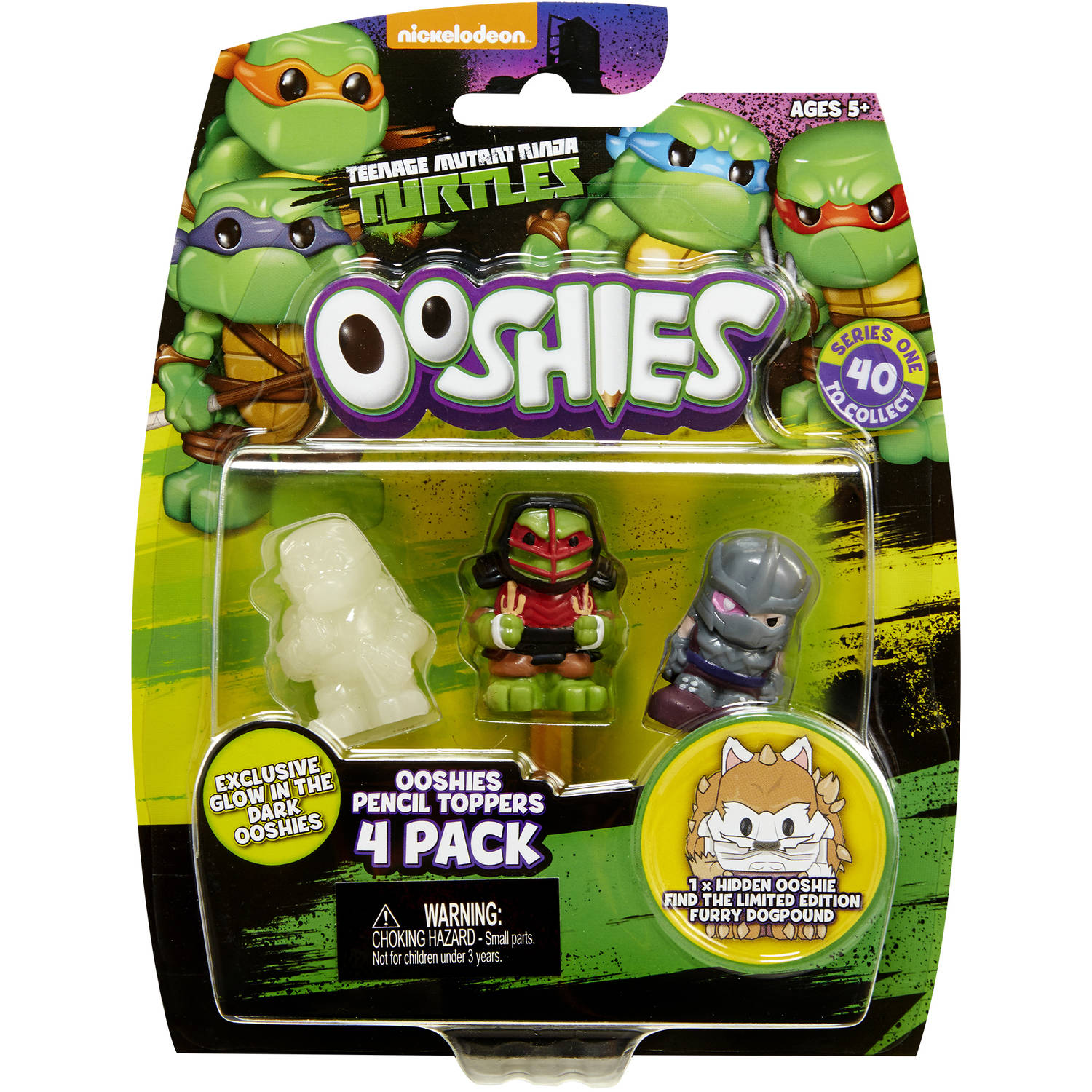 Ooshies TMNT 4-Packs #2