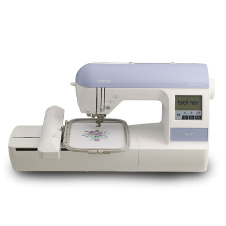 Brother PE40 Computerized Embroidery Machine With 40 X 40 Hoop Size Enchanting Spool Holder For Brother Sewing Machine