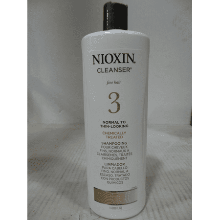 Nioxin Nioxin System 3 Cleanser 33 8 Oz Pack Of 4