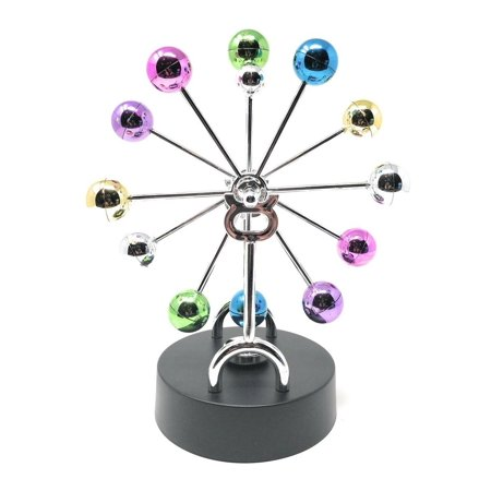 THY COLLECTIBLES Kinetic Art Asteroid - Electronic Perpetual Motion desk toy Home Office Decoration Ferris Sky Wheel - Desk Decoration