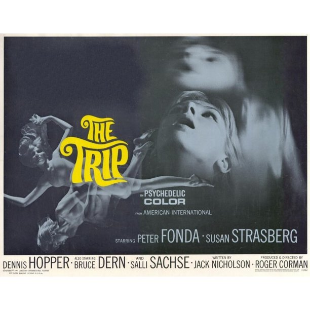 "The Trip - movie POSTER (Half Sheet Style A) (22"" x 28"") (1967) -  Walmart.com - Walmart.com"