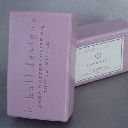 K Hall Designs Milled Shea Soap 8 oz. - -
