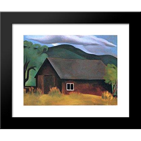 (My Shanty, Lake George 20x24 Framed Art Print by O'Keeffe, Georgia)
