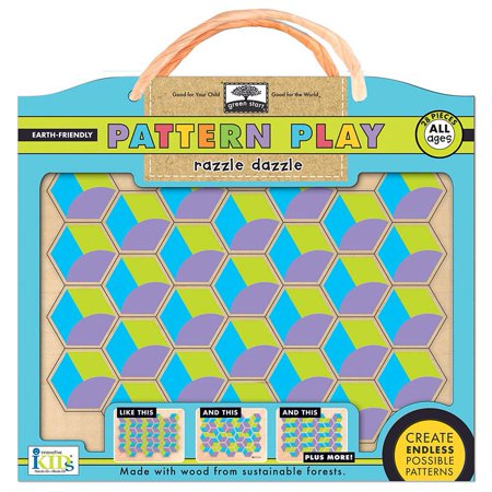 Pattern Play Razzle Dazzle 28 Piece Puzzle Kids Games By