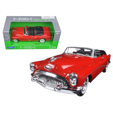 1953 Buick Skylark Convertible Red 1/24 Diecast Model Car by -