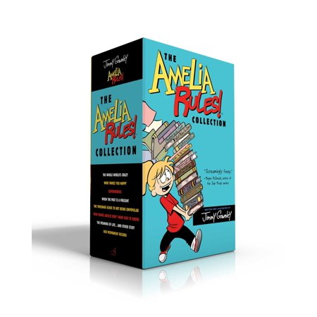 The Amelia Rules! Collection : The Whole World's Crazy; What Makes You Happy; Superheroes; When the Past Is a Present; The Tweenage Guide to Not Being Unpopular; True Things (Adults Don't Want Kids to Know); The Meaning of Life . . . and Other Stuff; Her Permanent Record