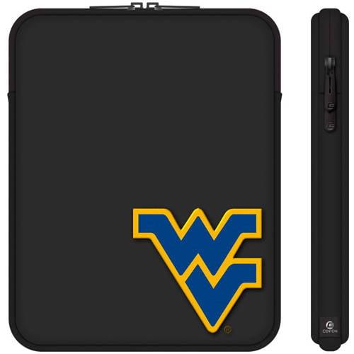 "Centon 10"" Classic Black Tablet Sleeve University of West Virginia"