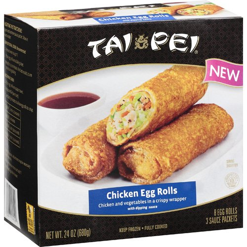 Tai Pei Chicken Egg Rolls, 24 oz.