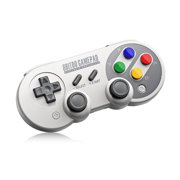 8Bitdo SF30 Pro,Wireless Bluetooth Controller with Classic Joystick Gamepad for iOS,Mac,PC,Android,Windows,macOS - Nintendo Switch (SF30 Pro)